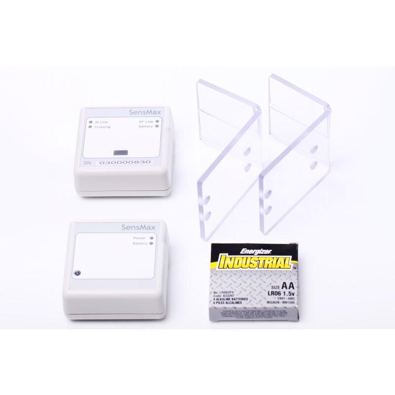 Batteriebetriebene Personenzähler Lichtschranken zur Einlasskontrolle