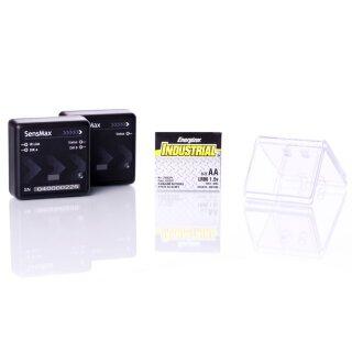 SensMax D3 Personenzähler bidirektional - Funk 2,4 GHz (bis 20m) - schwarz