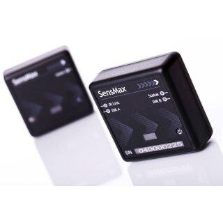 SensMax D3 Personenzählsystem Komplettpaket Longrange zur automatischen Auslesung per Funk (Reichweite 50m) - schwarz