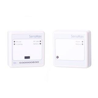 SensMax D3 Personenzähler bidirektional - Funk 2,4 GHz (bis 20m) - weiß