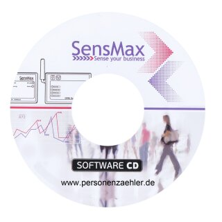 SensMax Personenzählsysteme Auswertesoftware EasyReport - Upgrade Software