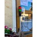 Kunden Einlassampel mit Funkfernbedienung - 230V