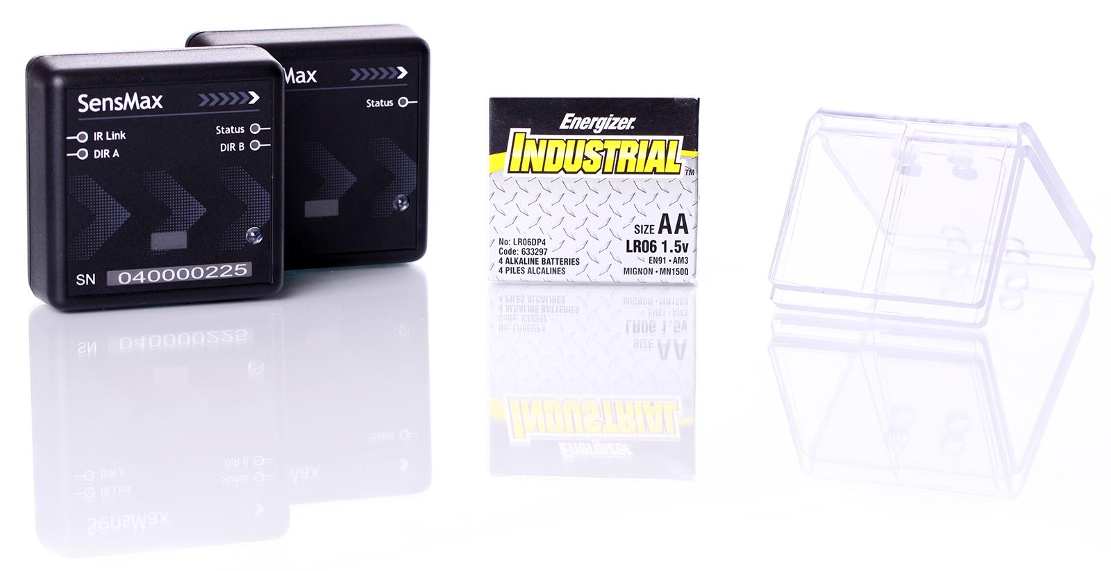 SensMax Personenzählsysteme mit Lichtschranke